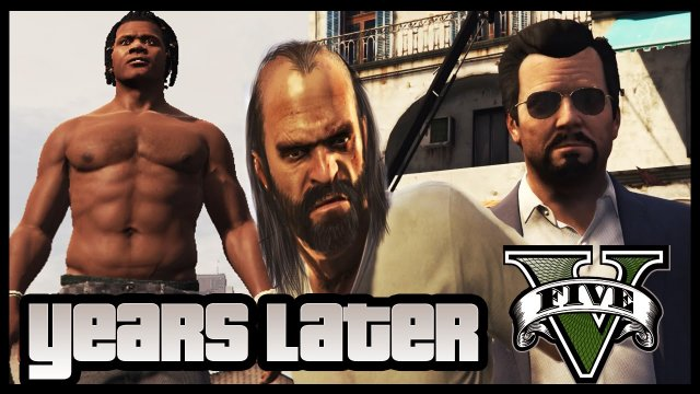 GTA 5  - Years Later (Short Film) GTA 5 Movie::