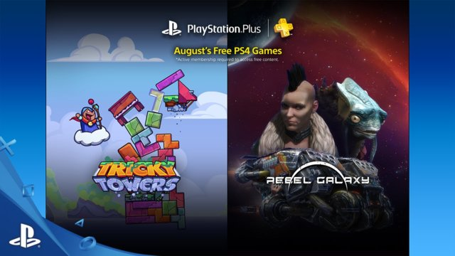 PlayStation Plus Free PS4 Games Lineup August 2016