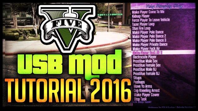 gta 5 mod menu xbox 360 usb tutorial