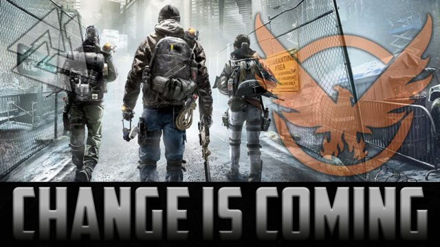 The Division Change Is Coming!