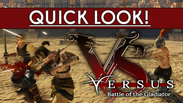 Quick look! - Versus: Battle of the Gladiator