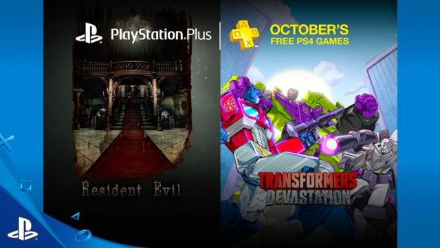 PlayStation Plus Free PS4 Games Lineup October 2016