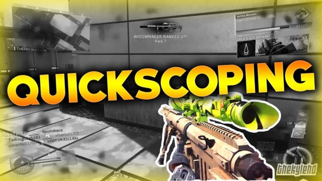 Call of Duty : Infinite Warfare - QUICKSCOPING IS BACK! (Quickscoping Guide)
