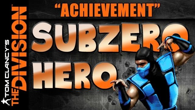The Division | Easy Rare Achievement Hunter | Subzero Hero