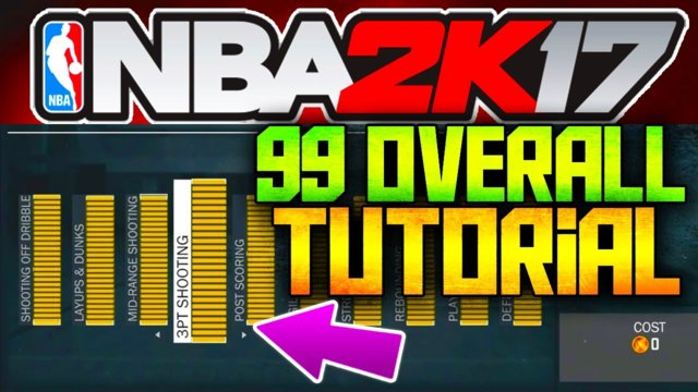 NBA 2K17 - 99 OVERALL INSTANTLY TUTORIAL! [FAST AND EASY] USB Mods::