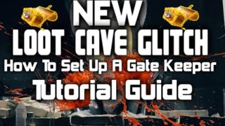The Division - Loot Cave - How To Set Up a Gate Keeper tutorial Guide
