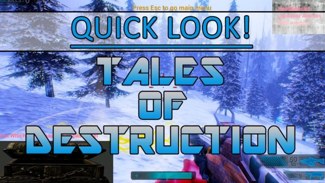 Quick look! - Tales of Destruction