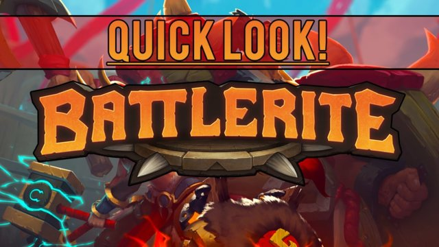 Quick look! - Battlerite