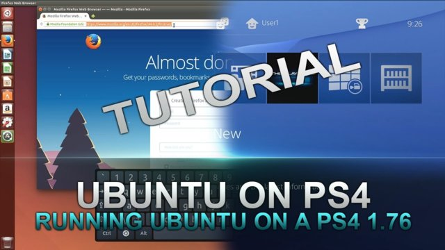 How to Run Ubuntu on a PS4 with 1 USB Stick