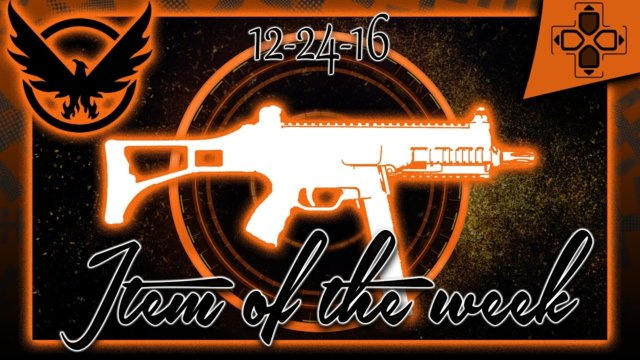 The Division | Item of the Week | Weekly Vendor Reset | December 24, 2016