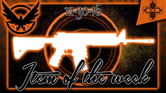 The Division | Vendor Reset | Item of the Week | December 30, 2016
