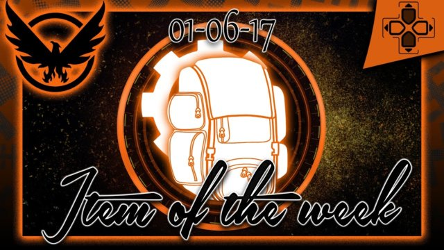 The Division | Vendor Reset | Item of the Week | January 6, 2017