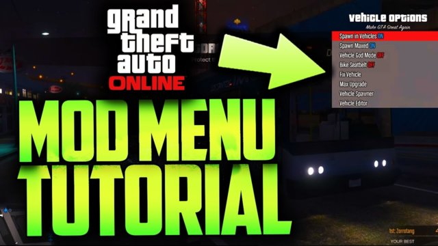 GTA 5 Online - *NEW* Amazing UNDETECTABLE Mod Menu (Download +Tutorial)::