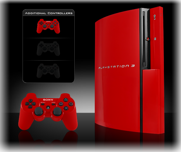 Red Ps3 Console Announced For Uk - Articles - Gaming News ...