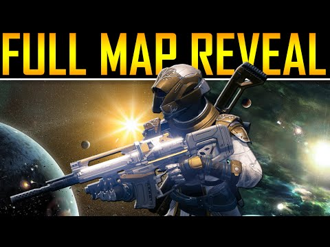 Destiny Full Map Walkthrough